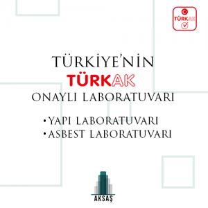 TÜRKAK Approved Laboratory of Turkey
