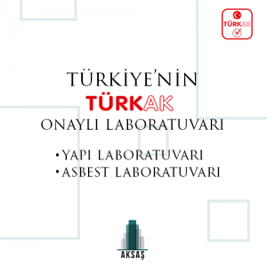 TÜRKAK Approved Laboratory of Turkey